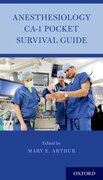 Cover for Anesthesiology CA-1 Pocket Survival Guide