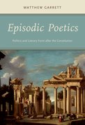 Cover for Episodic Poetics