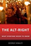 Cover for The Alt-Right