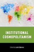 Cover for Institutional Cosmopolitanism