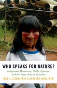 Cover for Who Speaks for Nature?