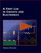 Cover for A First Lab in Circuits and Electronics