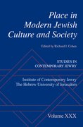 Cover for Place in Modern Jewish Culture and Society
