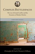 Cover for Complex Battlespaces - 9780190915360