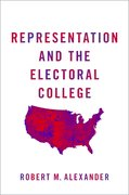 Cover for Representation and the Electoral College