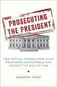 Cover for Prosecuting the President - 9780190943868