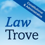 Cover for Law Trove: Constitutional & Administrative Law 2016