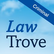Cover for Law Trove: Criminal Law 2016