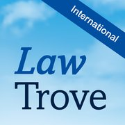 Cover for Law Trove: International Law 2016