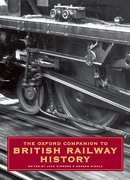 Cover for The Oxford Companion to British Railway History