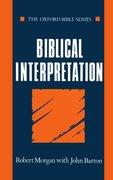 Cover for Biblical Interpretation