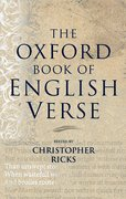 Cover for The Oxford Book of English Verse