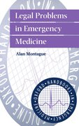Cover for Legal Problems in Emergency Medicine