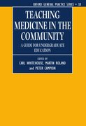 Cover for Teaching Medicine in the Community