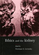 Cover for Ethics and the Kidney