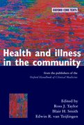 Cover for Health and Illness in the Community