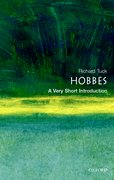 Cover for Hobbes: A Very Short Introduction