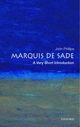 Cover for The Marquis de Sade: A Very Short Introduction