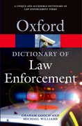 Cover for A Dictionary of Law Enforcement