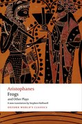 Cover for Aristophanes: Frogs and Other Plays