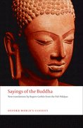 Cover for Sayings of the Buddha