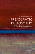 Cover for Presocratic Philosophy: A Very Short Introduction