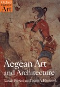 Cover for Aegean Art and Architecture