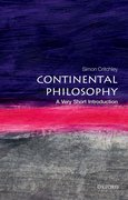 Cover for Continental Philosophy: A Very Short Introduction