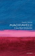 Cover for Machiavelli: A Very Short Introduction