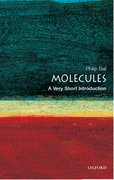 Cover for Molecules: A Very Short Introduction