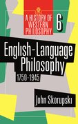 Cover for English-Language Philosophy 1750-1945