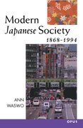 Cover for Modern Japanese Society 1868-1994