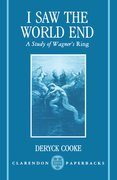 Cover for I Saw the World End