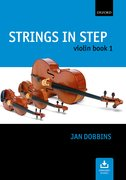 Cover for Strings in Step Violin Book 1 (Book and CD)
