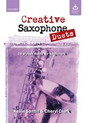 Cover for Creative Saxophone Duets + CD