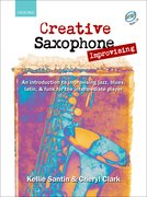 Cover for Creative Saxophone Improvising + CD