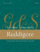 Cover for Ruddigore