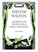 Cover for Quartet for Violin, Viola, Cello, and Piano