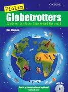 Cover for Violin Globetrotters + CD