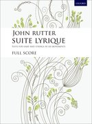 Cover for Suite Lyrique