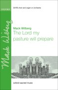 Cover for The Lord my pasture will prepare
