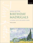 Cover for Birthday Madrigals - 9780193380295