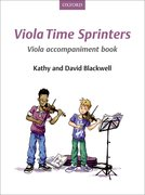 Cover for Viola Time Sprinters Viola Accompaniment Book