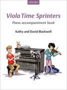 Cover for Viola Time Sprinters Piano Accompaniment Book
