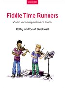 Cover for Fiddle Time Runners Violin Accompaniment Book