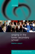 Cover for Singing in the Lower Secondary School - 9780193399006