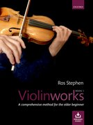 Cover for Violinworks Book 1 + CD - 9780193402676