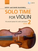 Cover for Solo Time for Violin Book 2 + CD