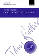 Cover for Open thou mine eyes
