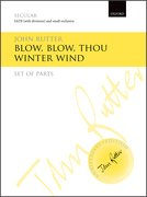 Cover for Blow, blow, thou winter wind